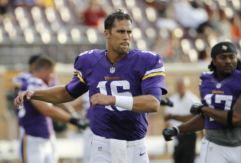 The Bills used a pick acquired late in the 2014 draft to trade for Matt Cassel.